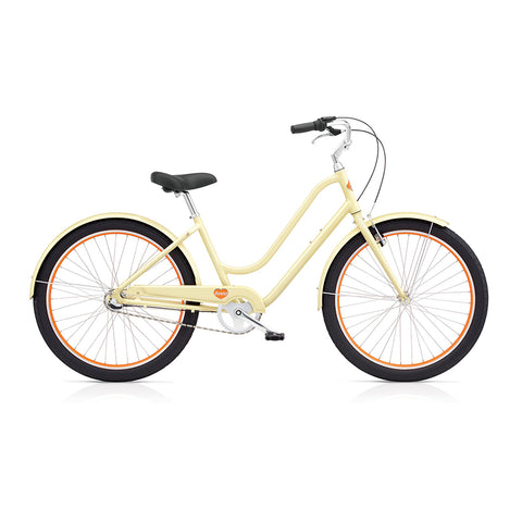 Benno Upright 3i Ladies City Bike- Vanilla Cream