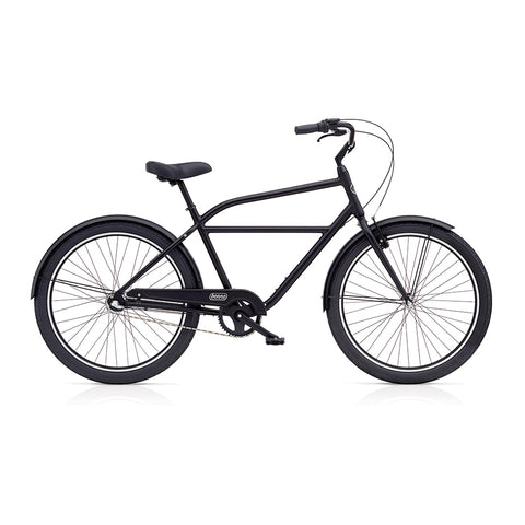 Benno Upright 3i Mens City Bike- Satin Black