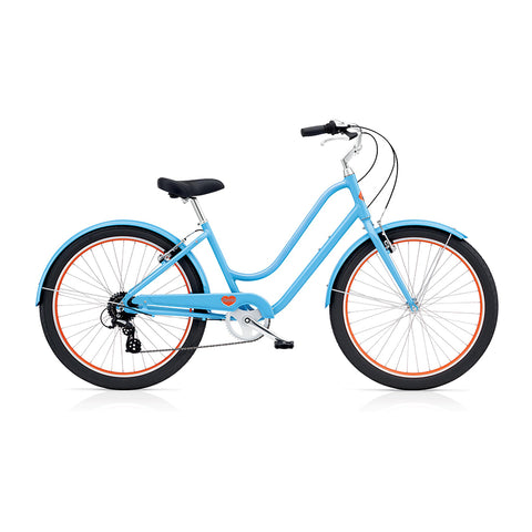 Benno Upright 8D Ladies City Bike- Maya Blue