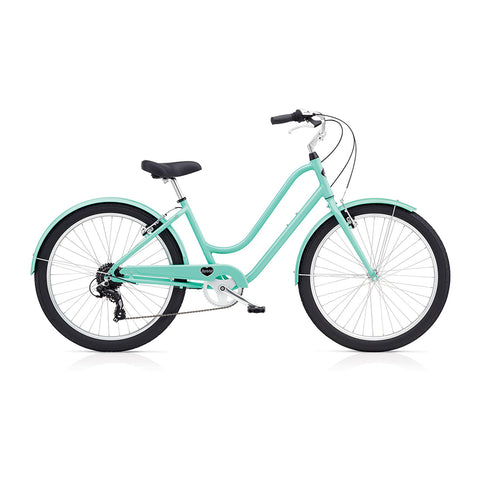 Benno Upright 8D Ladies City Bike- Mint Green