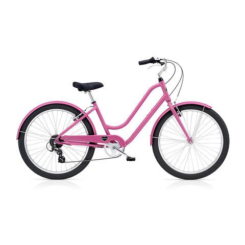Benno Upright 8D Ladies City Bike- Raspberry Pink