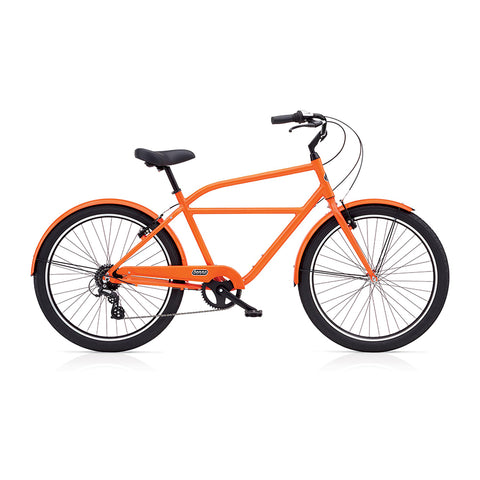 Benno Upright 8D Men's City Bike- Rally Orange
