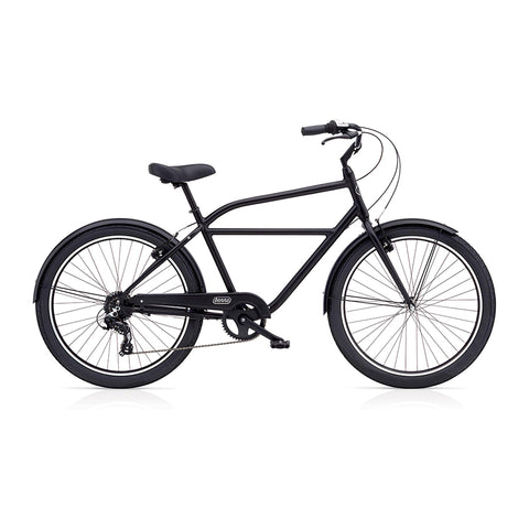Benno Upright 8D Men's City Bike- Satin Black