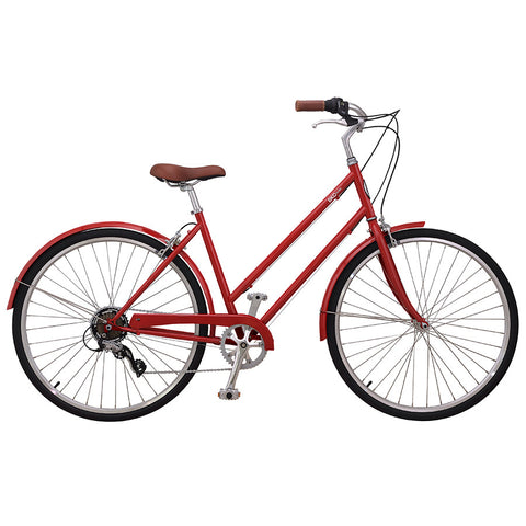 Brooklyn Bicycle Co. F7 Red