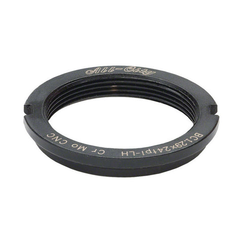 All-City Track Lockring Chromoly Black