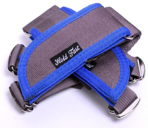 Hold Fast FRS Straps-Grey Base With Blue
