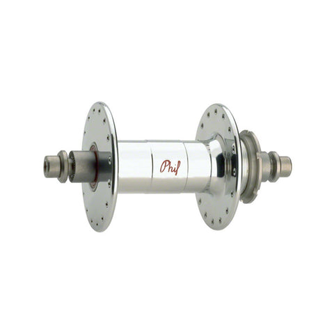 Phil Wood High-Flange Rear Track Hub 32h Chrome