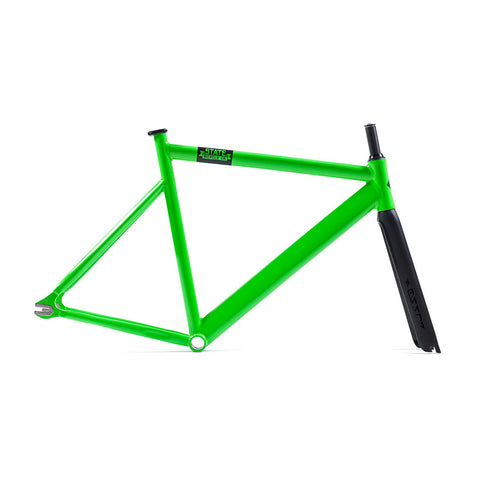 State Bicycle Co. 6061 Black Label Frame Set - Zombie Green