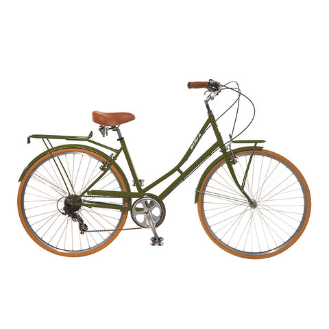 Biria Ladies Citibike 8 Olive Green