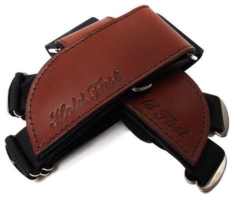 Hold Fast FRS Straps- Brown Leather