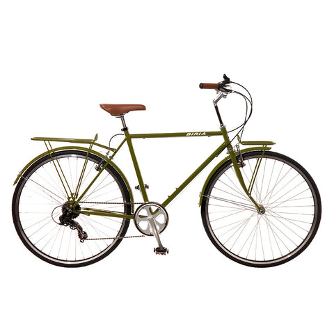 Biria Mens Citibike 8 Olive Green
