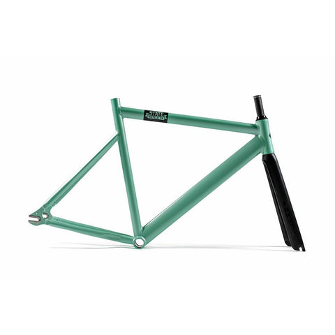 State Bicycle Co. 6061 Black Label Frame Set - Sea Foam