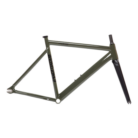 State Bicycle Co. 6061 Black Label v2 Frame Set - Army Green