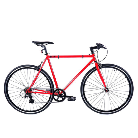 Golden Cycles Velo-7 Red