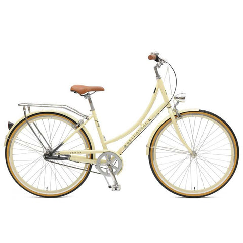 Retrospec Venus 3 Speed Step-Thru - Cream