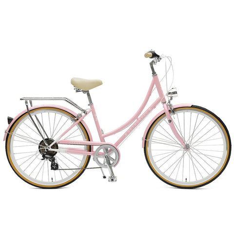 Retrospec Venus 7 Speed Step Thru - Millenial Pink