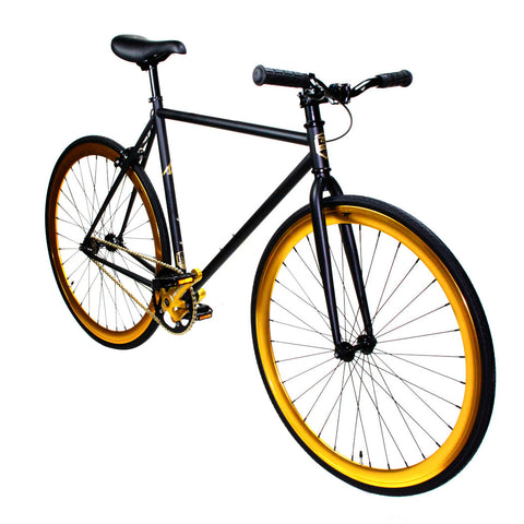 Zycle Fix Black Gold Riser Fixie