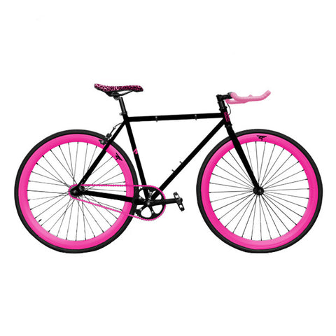 Zycle Fix Black Berry Pursuit Fixie-Custom Build