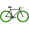 Zycle Fix Green Monster Riser Fixie