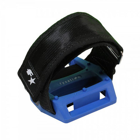 Fyxation Gates Pedal with Strap Kit Blue