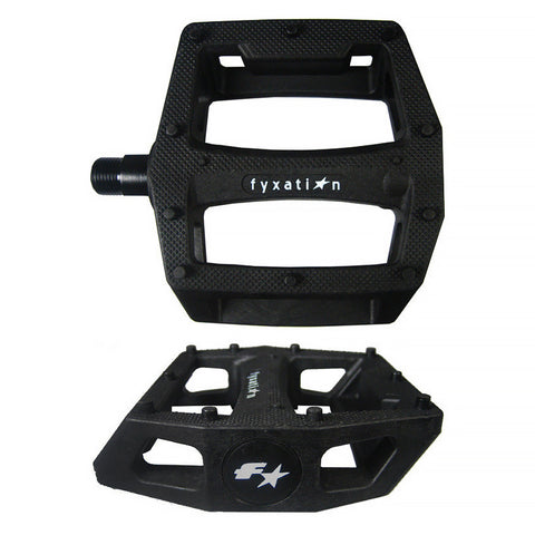 Fyxation Gates Pedal Black