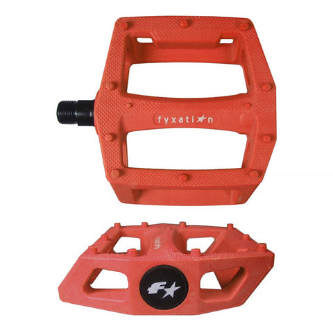 Fyxation Gates Pedal Red