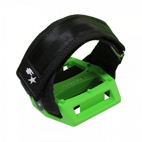 Fyxation Gates Pedal with Strap Kit Green