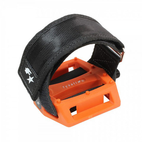 Fyxation Gates Pedal with Strap Kit Orange