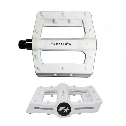 Fyxation Gates Slim Platform Pedal White