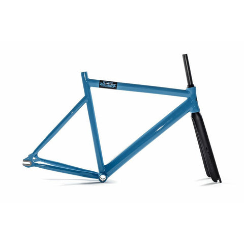 State Bicycle Co. 6061 Black Label Frame Set - Laguna Blue