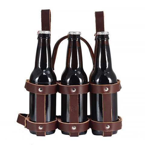 Fyxation Leather Six Pack Caddy