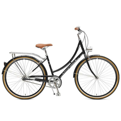 Retrospec Venus 3 Speed Step-Thru - Black