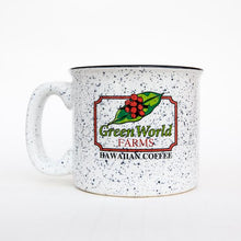 Load image into Gallery viewer, Green World Logo - Campfire Mugs