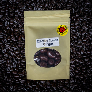 Chocolate Covered Ginger