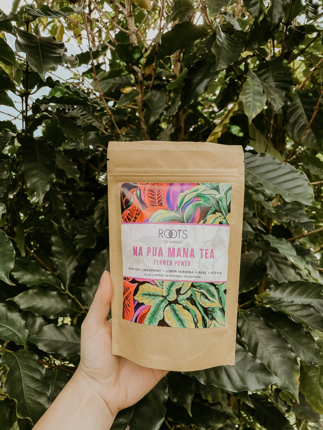Na Pua Mana (Flower Power) Tea