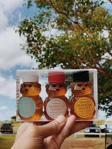 Honey Bear Trio