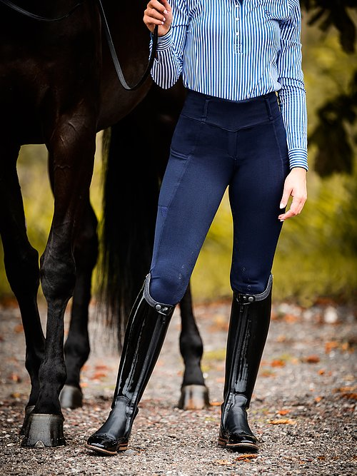Riding Tights, Mathilde DEEP SAPPHIRE