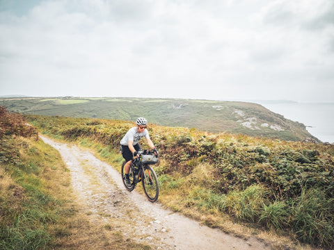 Aled cycling near Lands End