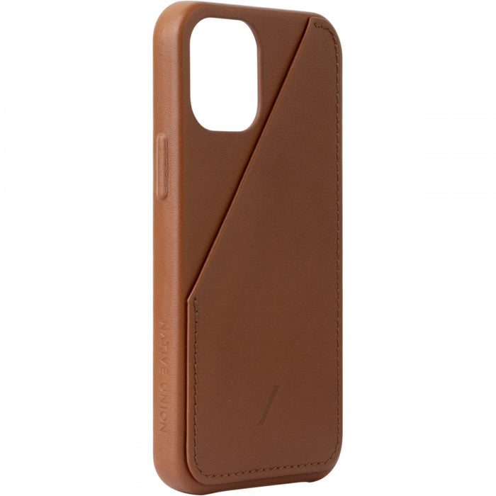 Native Union Card Leather Case iPhone 12/12 Pro - iPhone 12/12 Pro hoesje met kaarthouder