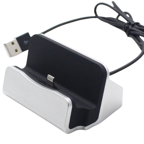 Dock Charger iPhone Oplaad Station - Docking Bureau Lader