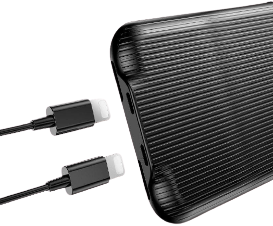 Baseus Audio Case met Audio Adapter Apple iPhone X / Xs Zwart