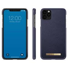 iDeal of Sweden - iPhone 11 Pro Hoesje - Fashion Back Case Saffiano Navy