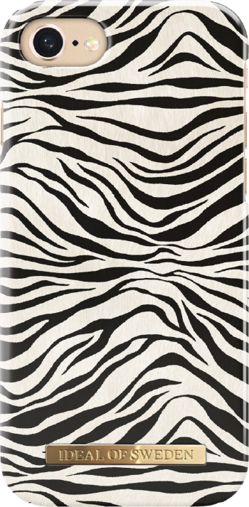 iDeal of Sweden Fashion Backcover iPhone SE (2020) / 8 / 7 / 6(s) hoesje - Zafari Zebra
