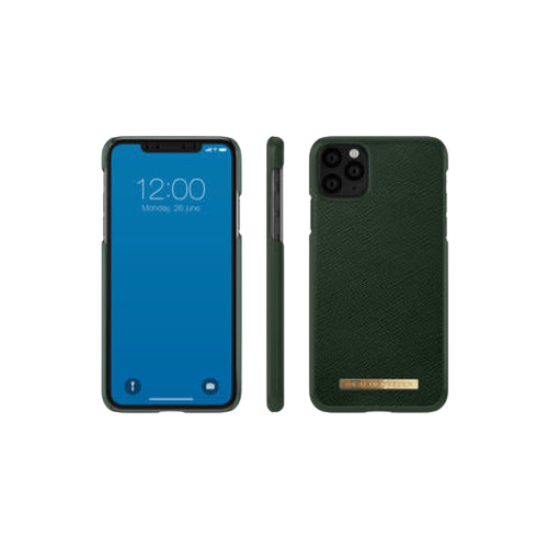 iDeal of Sweden Saffiano Backcover iPhone 11 Pro Max hoesje - Groen