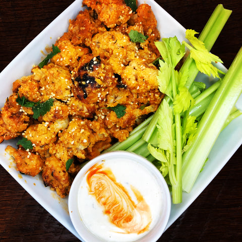 BYO Buffalo Cauliflower Nuggets | Gluten Free