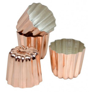 Matfer Copper Canele mold (Diameter 5.5cm) PER PIECE