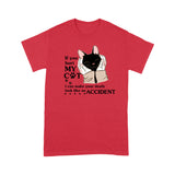 Hurt My Cat & I Will Make Your Death Look Like An Accident - Standard T-shirt, Tee