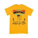 Never Underestimate An Autism Mom - Standard T-shirt, Tee