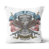 Freedom isn't free- Canvas Pillow