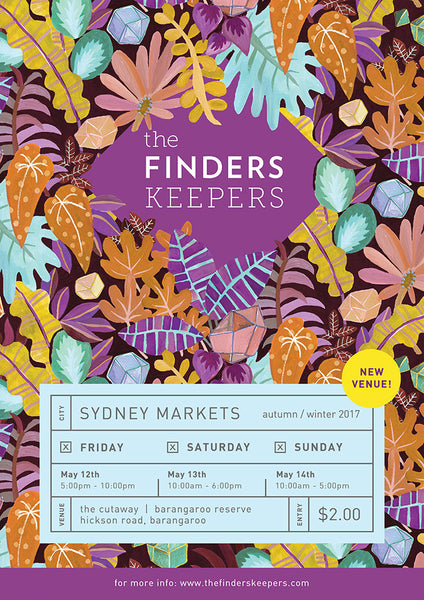 Finders Keepers Market - Sydney Autumn/Winter 2017!
